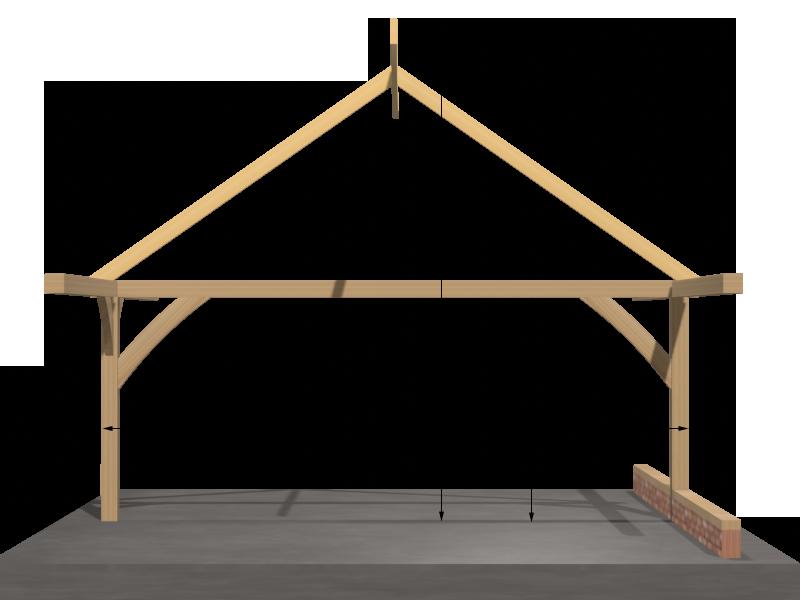 Measurements of the Beaulieu Oak Barn