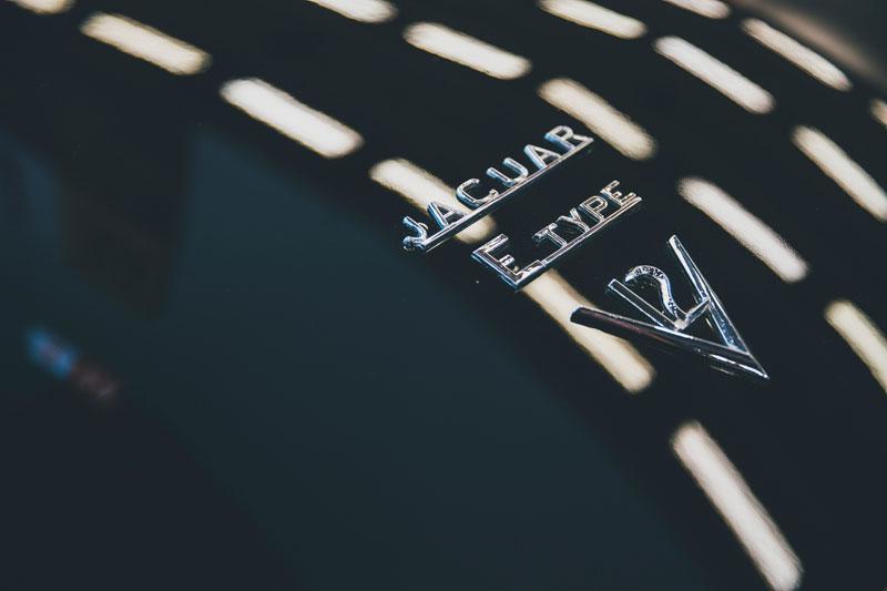 E-Type Jaguar Badge