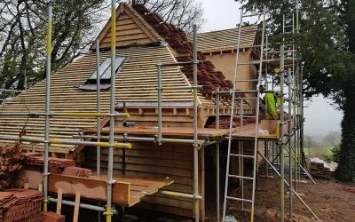 What roof tiles are suitable for my oak building?